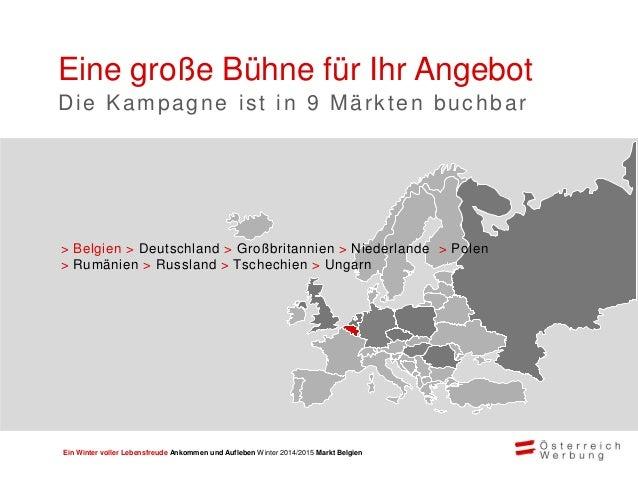 """Ein Winter voller Lebensfreude Ankommen und Aufleben Winter 2014/2015 Markt Belgien """"Wir haben uns für die Teilnahme an de..."""