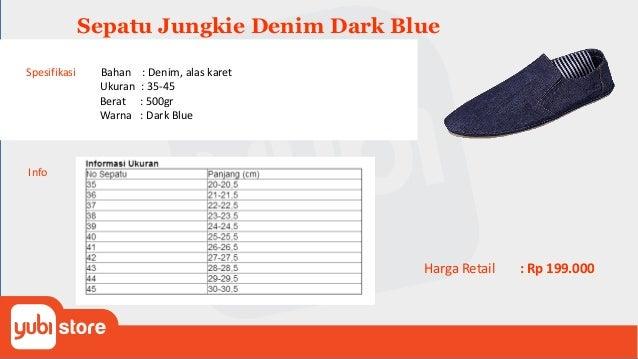 Jungkie Canvas Red Spesifikasi Bahan : Canvas, alas karet Ukuran : 35-45 Berat : 500gr Warna : Red Warna Lain : Dark Blue,...