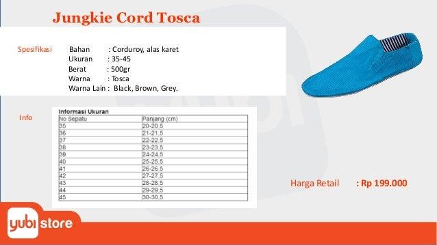 Jungkie Two Tone Blue Brown Spesifikasi Bahan : Corduroy, alas karet Ukuran : 35-45 Berat : 500gr Warna : Dark Blue Brown ...