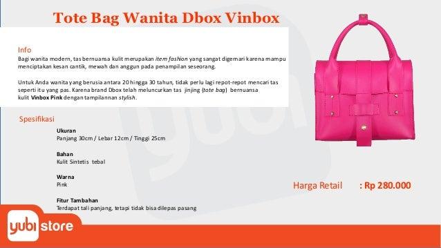 Tote Bag Spike-Shop Info Memiliki penampilan yang berbeda dari kebanyakan orang dan tetap terlihat cantik serta anggun mer...