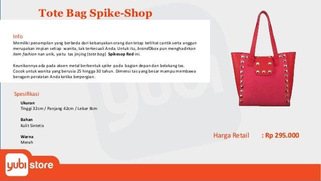 Whoopes-501 Tote Bag Spesifikasi Tote bag simple ini akan mempermanis penampilan sehari-hari Anda. Material canvas sueding...
