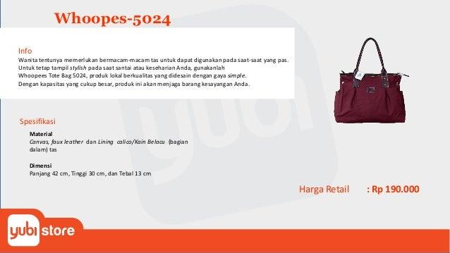 Whoopes Backpack-5026 Info Untuk tetap tampil stylish pada saat santai atau keseharian Anda, gunakanlah Whoopees Backpack ...