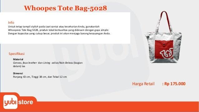 Whoopes Backpack-5034 Info Untuk tetap tampil stylish pada saat santai atau keseharian Anda, gunakanlah Whoopees Backpack ...