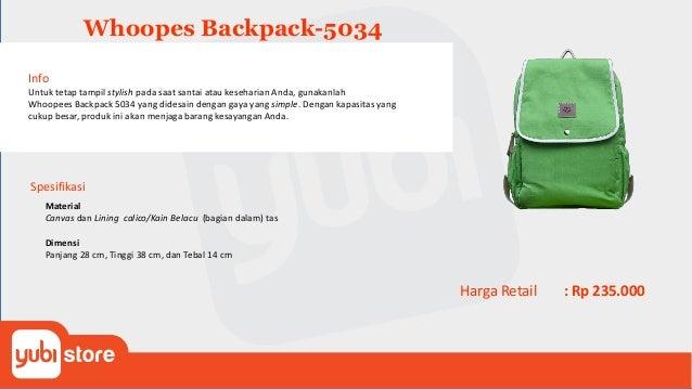 Whoopes Tote Bag-5936 Info Untuk tetap tampil stylish pada saat santai atau keseharian Anda, gunakanlah Whoopees Tote Bag ...