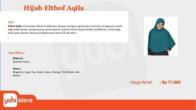 Elthof Aurel Info Jilbab Elthof Aurel yang akan membuat anak Anda dapat berpakaian muslim dengan penuh gaya. Jilbab ini di...