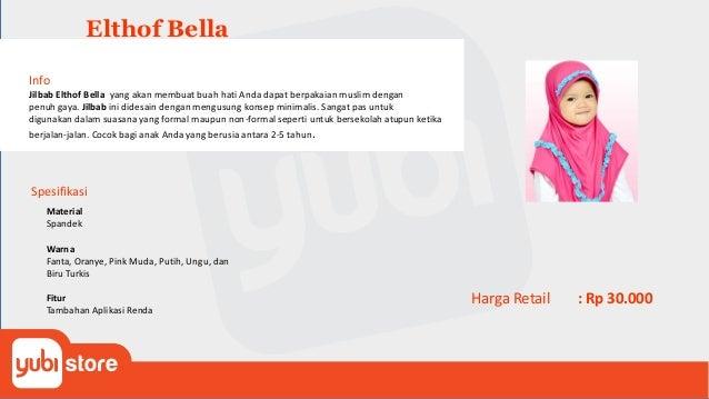Elthof Dafiya Info Jilbab Elthof Dafiya yang akan membuat anak Anda dapat berpakaian muslim dengan penuh gaya. Jilbab ini ...
