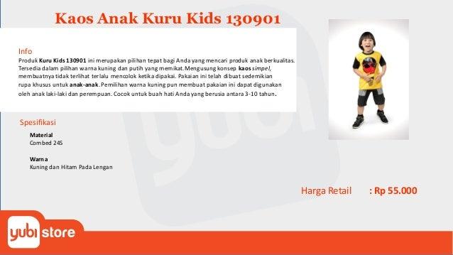Kaos Anak Kuru Kids 130902 Info Produk Kuru Kids 130902 ini merupakan pilihan tepat bagi Anda yang mencari produk anak ber...