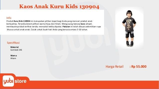 Kaos Anak Kuru Kids 130905 Info Produk Kuru Kids 130905 ini merupakan pilihan tepat bagi Anda yang mencari produk anak ber...