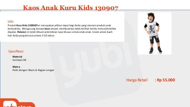 Kaos Anak Kuru Kids 130907 Info Produk Kuru Kids 130907 ini merupakan pilihan tepat bagi Anda yang mencari produk anak ber...