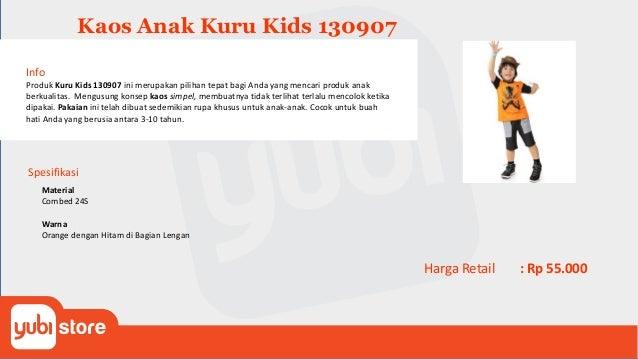 Kaos Anak Kuru Kids 130908 Info Produk Kuru Kids 130908 ini merupakan pilihan tepat bagi Anda yang mencari produk anak ber...