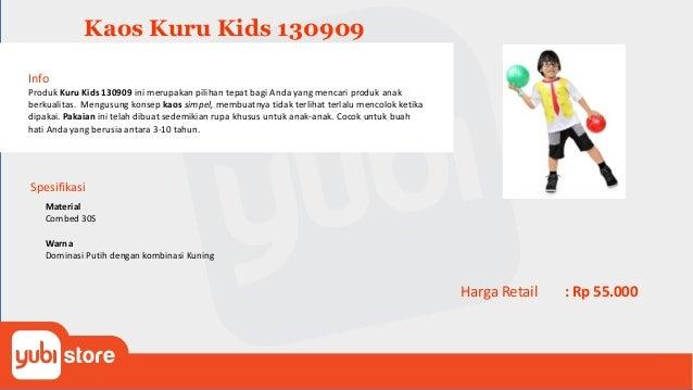 Kaos Anak Kuru Kids 130910 Info Produk Kuru Kids 130910 ini merupakan pilihan tepat bagi Anda yang mencari produk anak ber...
