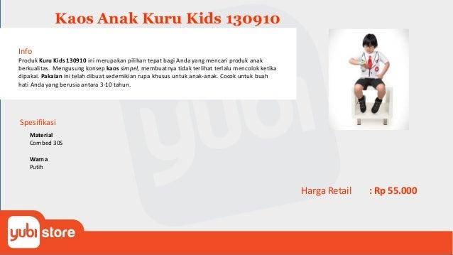 Kaos Anak Kuru Kids 130911 Info Produk Kuru Kids 1309011 ini merupakan pilihan tepat bagi Anda yang mencari produk anak be...