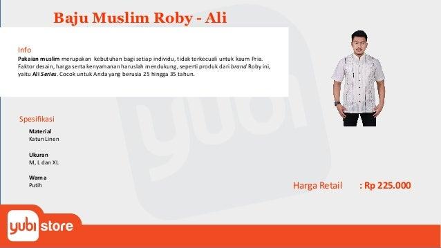 Baju MuslimRoby - Bilal Info Pakaian muslim merupakan kebutuhan bagi setiap individu, tidak terkecuali untuk kaum Pria. Fa...