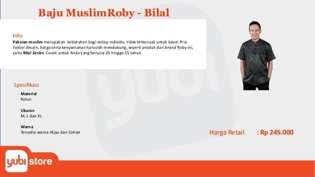 Baju Muslim Roby - Thoriq Info Pakaian muslim merupakan kebutuhan bagi setiap individu, tidak terkecuali untuk kaum Pria. ...