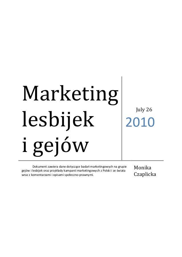 Marketinglesbijek                                                                               July 26                   ...