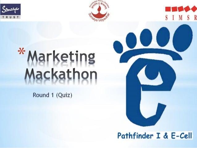 Marketing mackathon solution