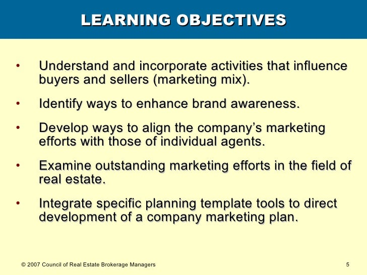 LEARNING OBJECTIVES <ul><li>Understand and incorporate activities that influence buyers and sellers (marketing mix).  </li...