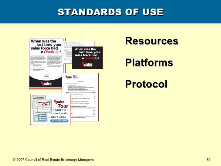 STANDARDS OF USE <ul><li>Resources </li></ul><ul><li>Platforms </li></ul><ul><li>Protocol </li></ul>