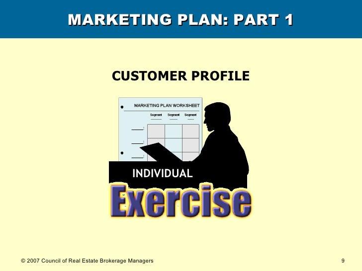 MARKETING PLAN: PART 1 CUSTOMER PROFILE INDIVIDUAL