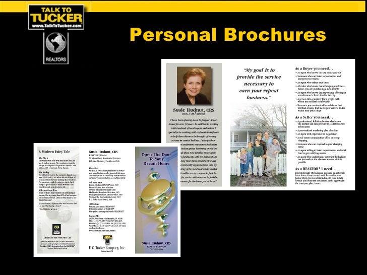 Personal Brochures