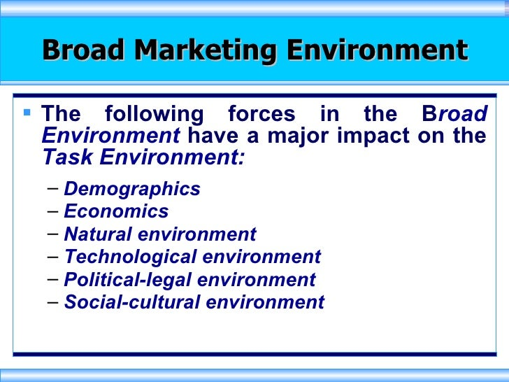 social cultural environment marketing