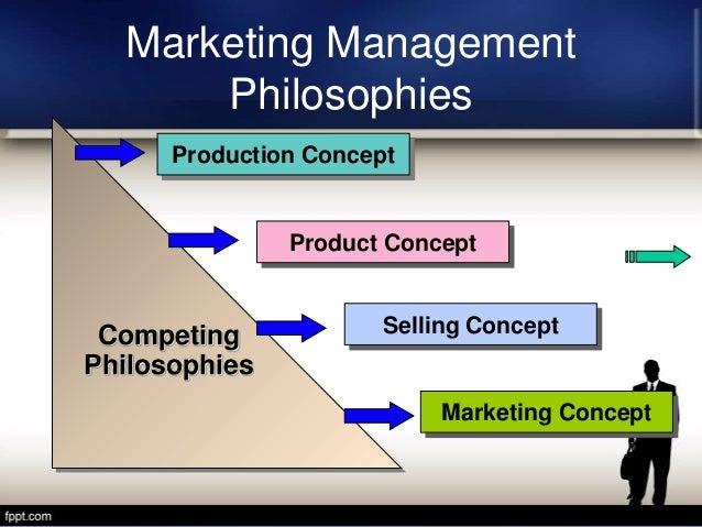 philosophy of marketing concept