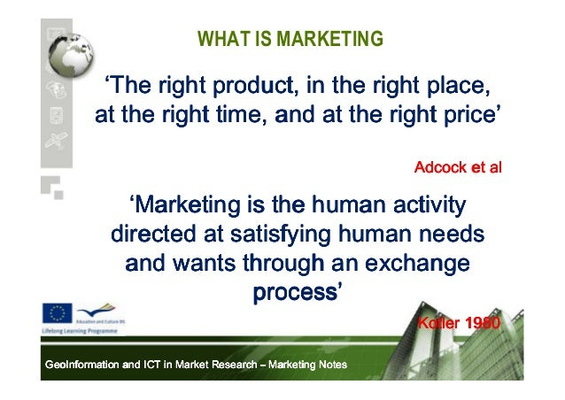 marketing is the management process that identifies anticipates and satisfies customer requirements  Marketing in today's business world essay  marketing as ''the management process that identifies, anticipates and satisfies customer requirements.