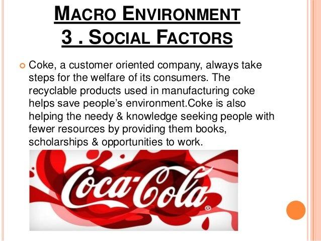 coca cola marketing environment