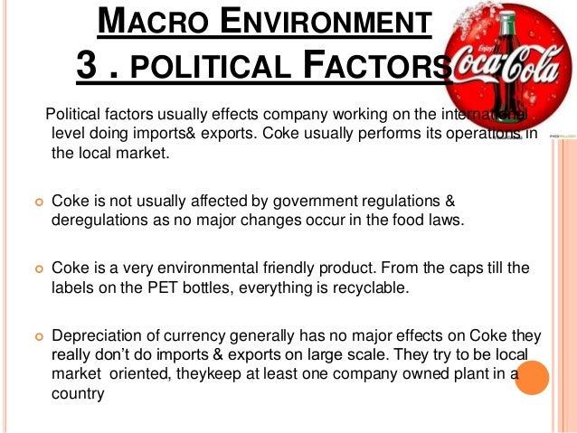 coca cola regulatory environment