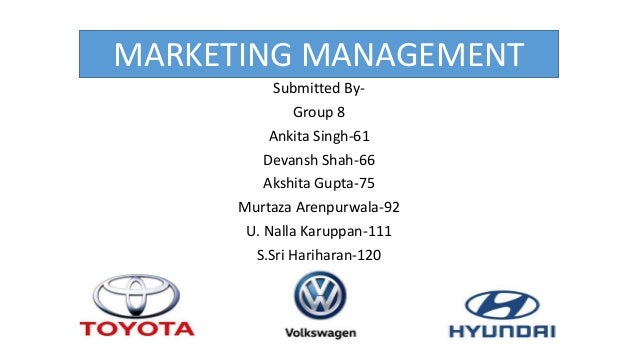 MARKETING MANAGEMENT Submitted By- Group 8 Ankita Singh-61 Devansh Shah-66 Akshita Gupta-75 Murtaza Arenpurwala-92 U. Nall...