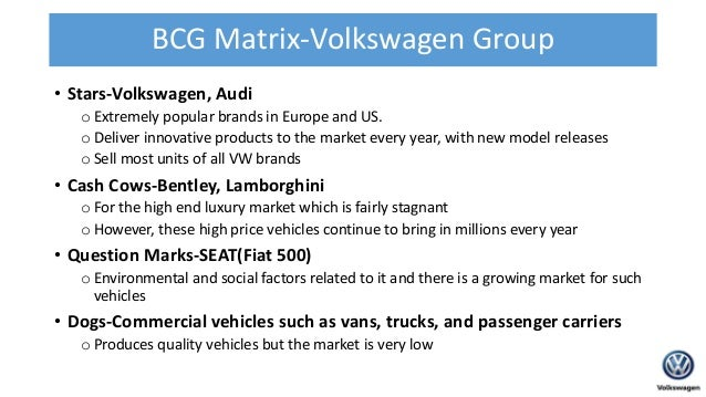 lamborghini bcg matrix Bcg matrix in the marketing strategy of bentley –  such as rolls-royce, aston  martin, mclaren, bugatti, lamborghini, ferrari and many others.