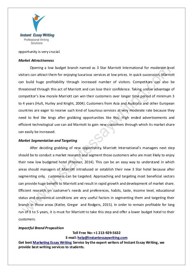 sample report on marketing management by instant essay writing  14