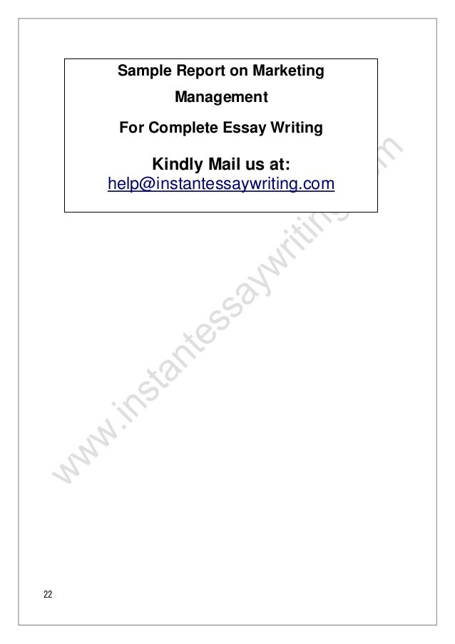 sample accounting report writing essay Database of example accounting essays - these essays are the work of our professional essay writers and are free to use to help with your studies.