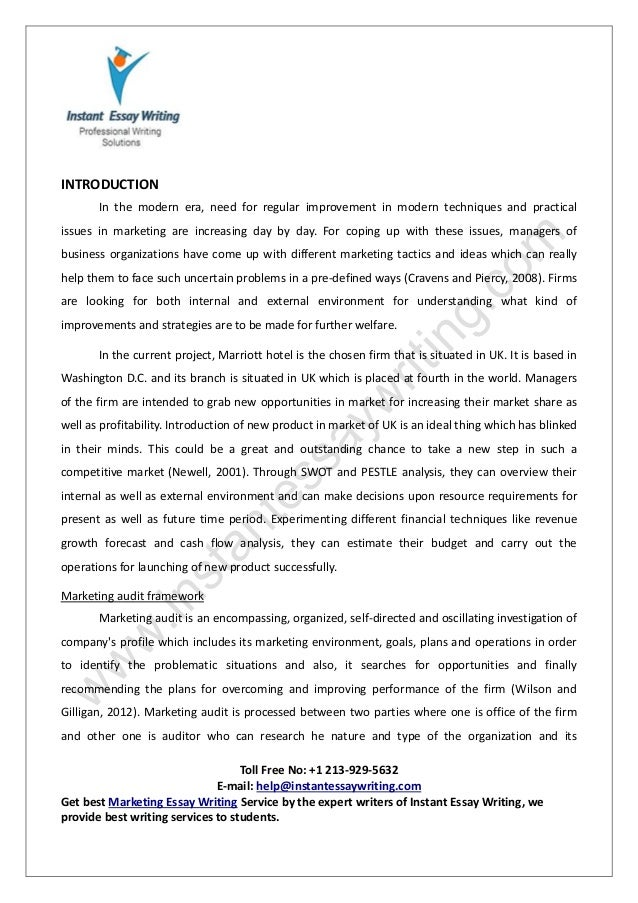 essay on marketing management co essay on marketing management