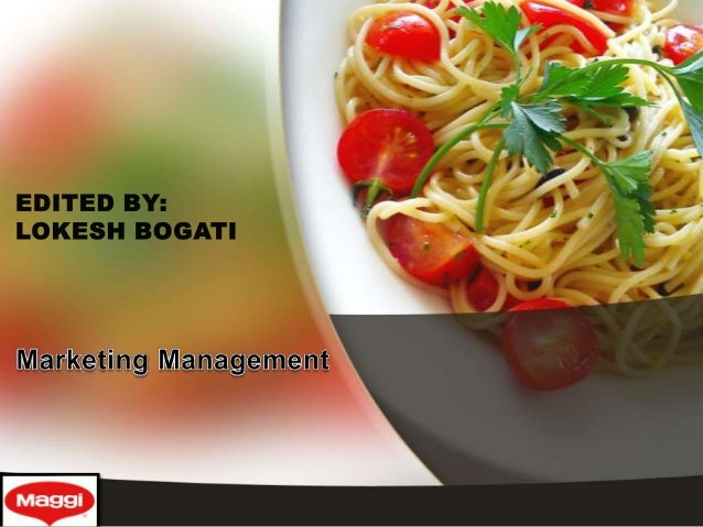 marketing research by maggi noodles Maggi wins back market share on sustained recovery  it is still not back at  normal levels, according to data by market research agency, imrb.