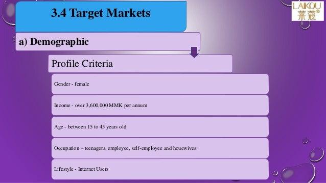 Marketing management presentation - final