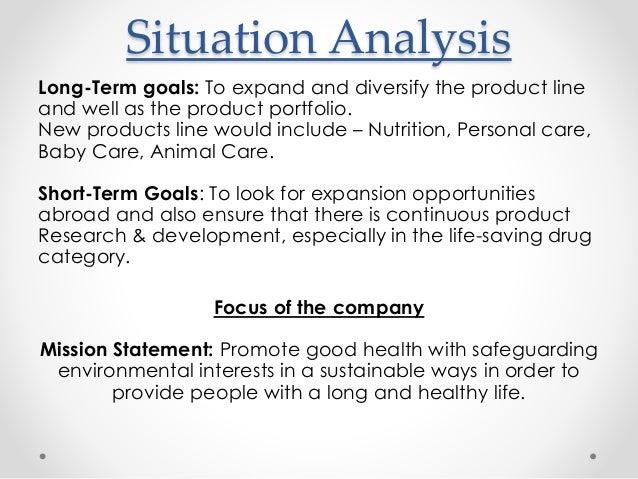 Short Term Objectives : Marketing plan tractor drug company