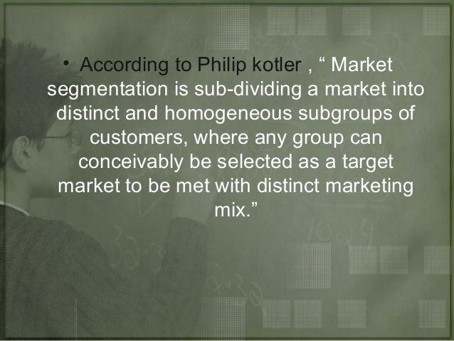 Marketing management market segmentation Slide 3