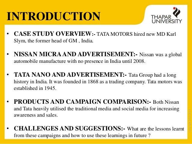 Tata Nano Case Study Paper