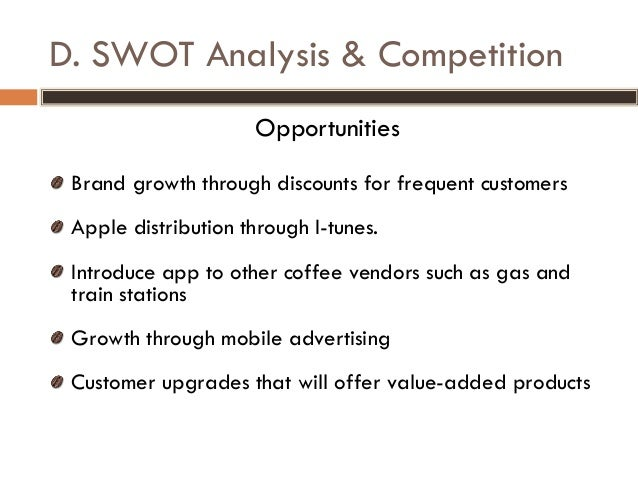 Dunkin Donuts SWOT Analysis, Competitors & USP