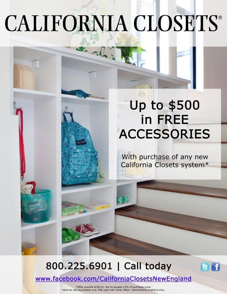 Marketing materials for $500 accessories promo