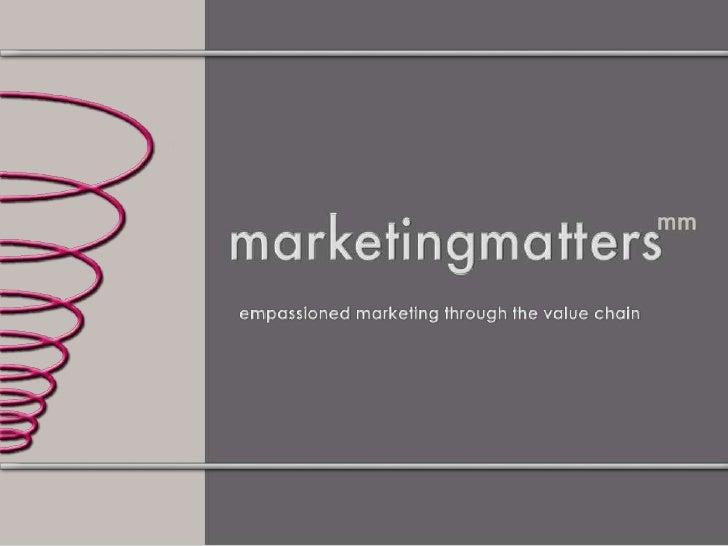 Marketing MetricsChapter 1:IntroductionChapter 2: Market Share  Part II