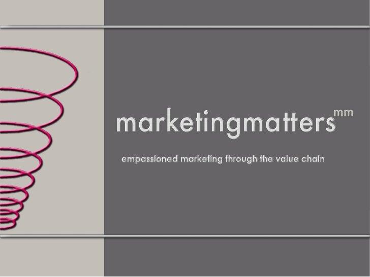 Marketing MetricsChapter 1:IntroductionChapter 2: On Mark Ups & Margins