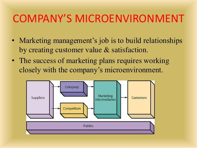 The Impact Of Micro and Macro Environment Factors on Marketing