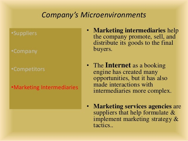 marketing macro and microenvironments The impact of micro and macro environment factors on marketing  micro and  macro environments micro environment factors.