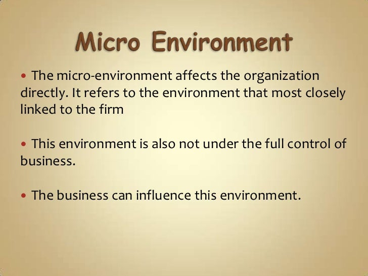 "how can the micro environment affect huawei This is ""individual or ""micro"" factors that affect financial thinking"", section 11 from the book individual finance (v 10) for details on it (including licensing), click here."