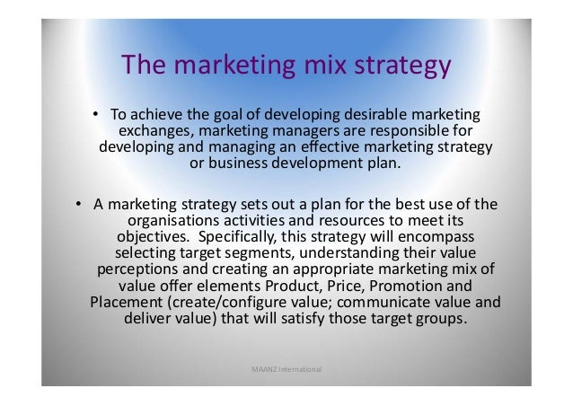use of an appropriate promotional mix with respect to business and marketing objectives Coco cola – marketing strategy and market plan will help the business achieve it's objectives more promotion is the p of the marketing mix designed.