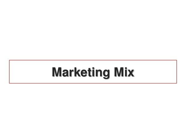 Marketing mix for hair salon