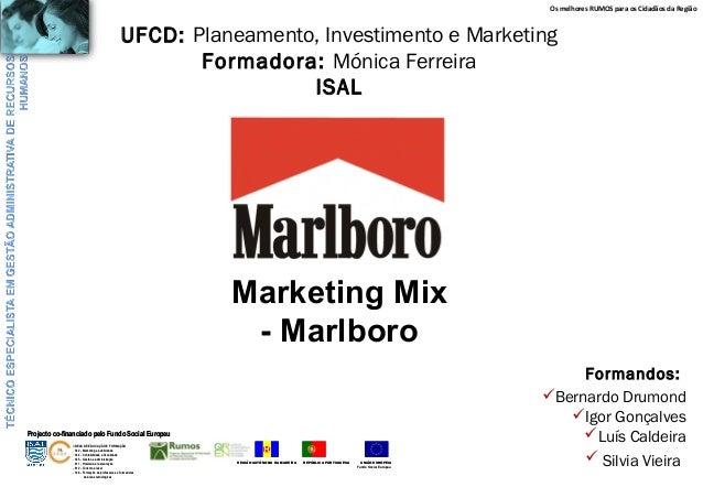 marlboro marketing mix