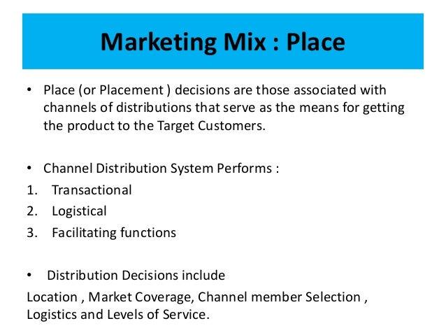 Boeing marketing mix decision